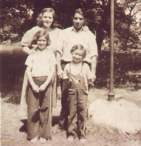 Bertha & Gilbert, Phyllis & Corinne