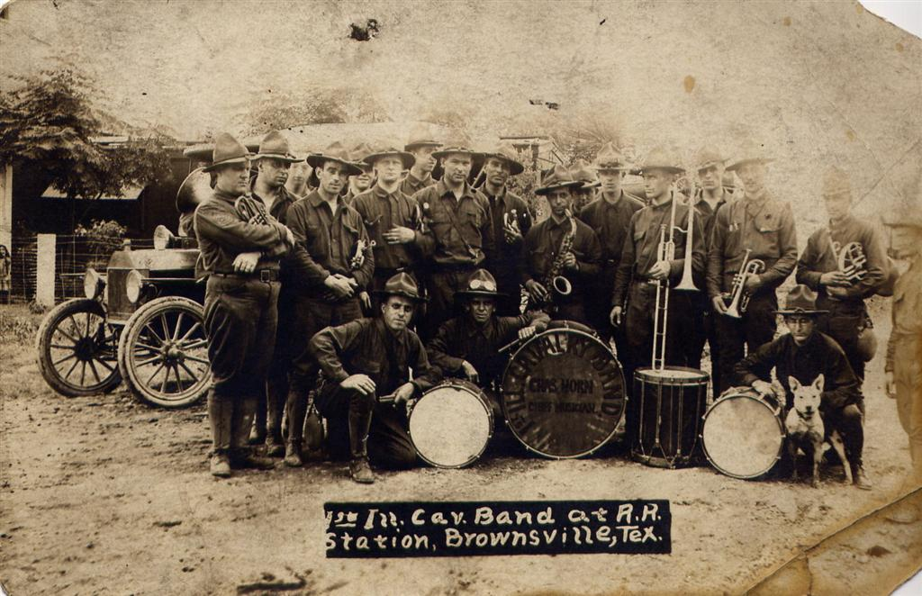 2 1st Illinois Cavalry Band -