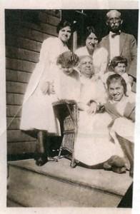 James & Matilda Baumann & family