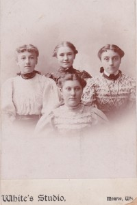 Grace Norder and her sisters