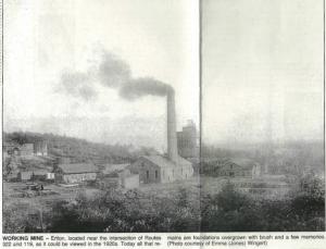Eriton Mine 1920's Pennslyvania