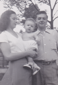My mother, father and brother Bob