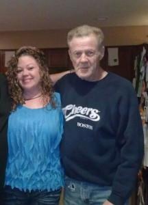 John Jr & daughter Sherry  approx. 2011