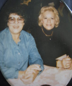 Auntie Phyllis and Mom (Corinne)