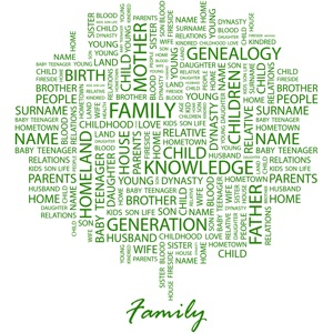 Bigstock FAMILY Word collage on white 13243772