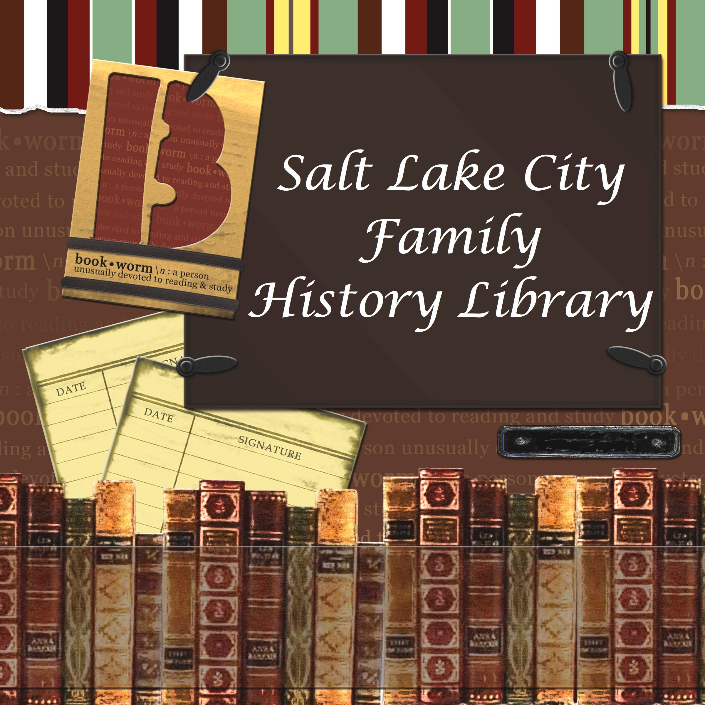 Researching at the Family History Library | A Genealogy
